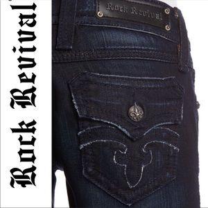 Like new Rock Revival Debbie Boot Jeans